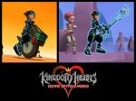 Kingdom Hearts - Interacting with Lyoko by rev-rizeup
