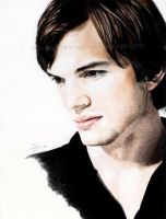 Ashton Kutcher by Jeanne-Lui