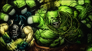 Hulk vs Wolverine : SOTW Entry by NuclearAgent