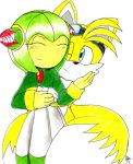 Tails and cosmo by erosmilestailsprower