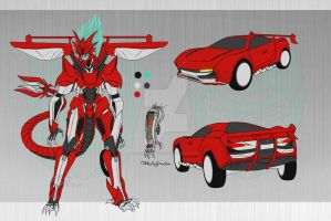 Transformers Fanfiction OC - Saboteur by ZodiacNikole