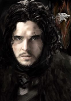 Jon Snow by digitalArtistYork