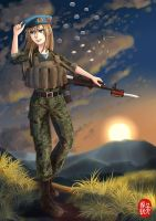 Not one step back Comrades! by NDTwoFives