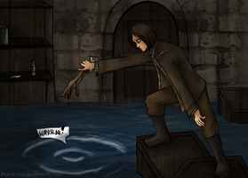 Amnesia: Water monster by BlackSun999