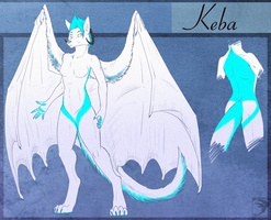 Ref Sheet Comish - Keba by TwilightSaint