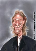 Sean Bean caricature by nelsonsantos