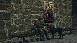 Grenades,bottles and a dog by CaptainSovietScouts