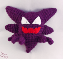 Haunter - Pokemon by AmiAmaLilium