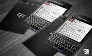 BlackBerry Q10 Business Card by quen-quen