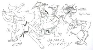 Journey to the Japan by komi114