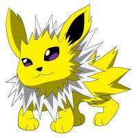 Chibi: Jolteon from Pokemon by animereviewguy