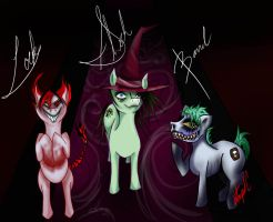 la sombra de un pasado común {Fashback} (P.poni) May_eighth__boogie__s_ponies_by_intrepidlycontrived-d4zflr7