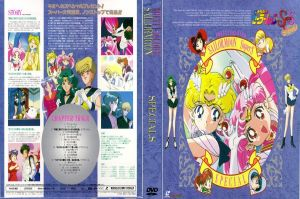 Sailor Moon Specials DVD Art by utskushi-billy