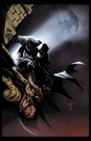 Gotham's Guardian colored by Hughes by KenHunt
