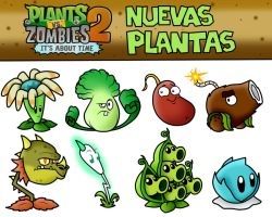 Plants vs Zombies 2 It's About Time New Plants by SuperLakitu
