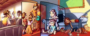 A day in the kids life by javicandraw
