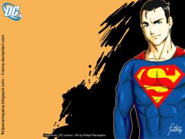 Wallpaper Superman by F-Rama