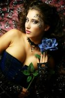 blue rose II by gestiefeltekatze