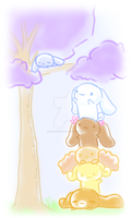 :RESUBMIT: Get Down From There Sleepyhead by hyperfluffball