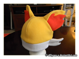 Fennekin Hat by Allyson-x