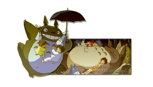 Totoro by ChibiNeves