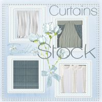 Curtains 01 stock pack by Ecathe