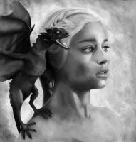 Mother of Dragons by MontiMirko85