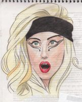 Gaga first attempt by MADONNALILY