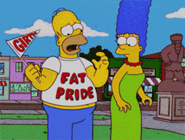 Homer Simpson's Fat Pride by Pervertix