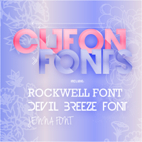 Cufon fonts by CandyBiebs
