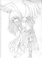 Angels Use Prosthetic Limbs by orangelion90