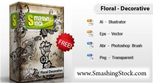 Free Floral Decorative Pack by smashing-stock