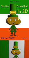 Mr. Irish Potato Head at Sea by Judan