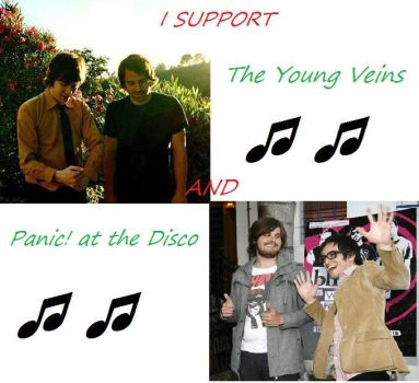 Young Veins-Panic at the Disco by Aethinia