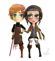 Commission - Conor and Hildegard by MissElysium