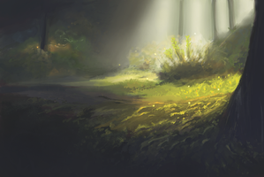 deep forest by magdali-na
