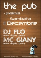 Flyer Mc Giany by djmyeloo