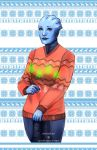 ME Christmas Sweaters - Liara by Weissidian