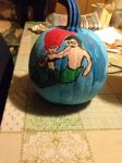 My pumpkin for this year by MrsArmstrong1GDFreak