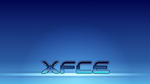 XFCE Blue Metallic Wallpaper by DefectiveDre