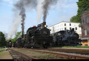 A lot of Steam Engines by 3window34