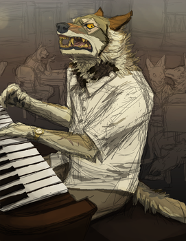 ''THE NEXT PERSON I HEAR REQUESTING 'PIANO MAN'-'' by Canis-ferox