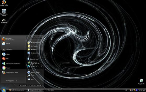 My awesome desktop..seriously by kellock