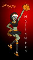 Happy Halloween - ZOMBIE by IrisAngel131