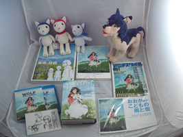 Wolf Children Ame and Yuki Collection updated by darkpheonixchild