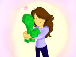 creeper love by Broezzz