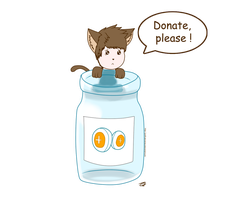 Please, donate ! by JackFrostOverland