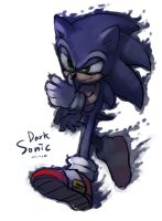 Dark Sonic by Hanybe