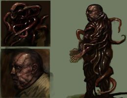 Shogoth man concept by sonofamortician