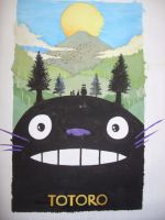 Totoro by benhdv